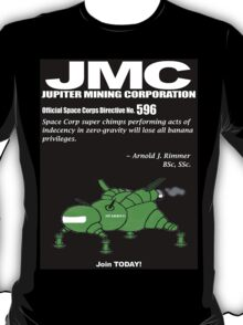 Space Corps Directive 597 - By Rimmer T-Shirt