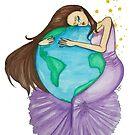 Purple Embrace by Katz Karma