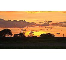 Sunset in Mackay Photographic Print