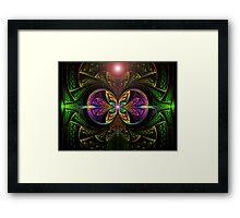 The Green Lantern  (UF0250) Framed Print