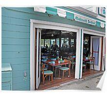 Abalonetti's storefront, Monterey CA Poster