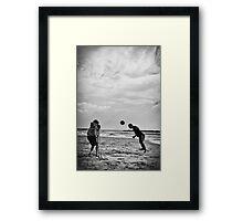 ballMen #1 Framed Print