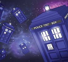 TARDIS Galaxy by Vinnie14