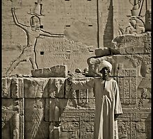 Egyptian man by Elvir