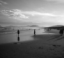 Joaquina beach Brazil by William Alexander Atkins
