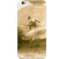 Antique Surfer iPhone Case/Skin