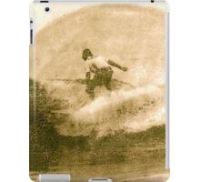 Antique Surfer iPad Case/Skin