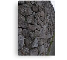 The wall at The Bolders Canvas Print