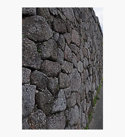 The wall at The Bolders Photographic Print