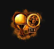 Mechanical Heart -  Gold Unisex T-Shirt