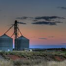 Silos at Sunset by Rod Wilkinson