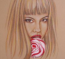 Lollipop by rmillsart