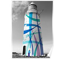 Cape Bruny Ribbons Poster