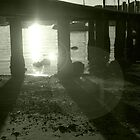 Sunset under Pier by clareville