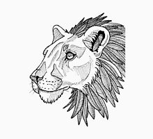 Feather maned lion Unisex T-Shirt