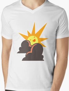 Artifice Corporate Logo Mens V-Neck T-Shirt