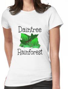 Daintree Rainforest Womens Fitted T-Shirt