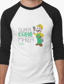 Super Luigi Maker Men's Baseball ¾ T-Shirt