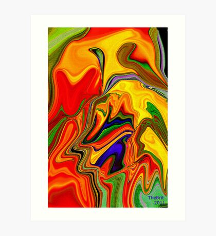 Living color for Easter Art Print