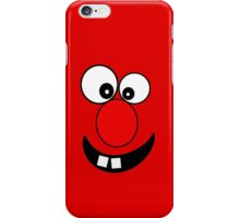 Funny Cartoon Face Kids T-Shirt and Sticker iPhone Case/Skin