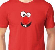 Funny Cartoon Face Kids T-Shirt and Sticker Unisex T-Shirt
