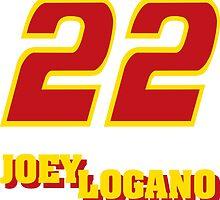 Joey Logano by JUSTiceTEA