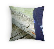 Board Gazing Throw Pillow