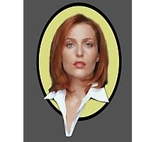x-files - Scully Photographic Print