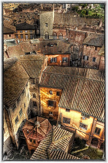 Siena from above by clint hudson