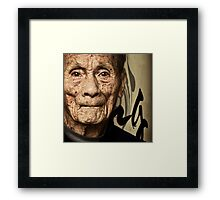 The Vietnam Veteran #0501 Framed Print