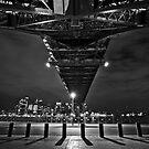 Under the bridge by John Morton