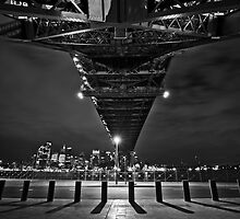 Under the bridge by John Morton