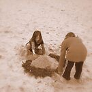 sandcastles by wyvernsrose