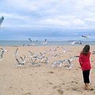 Chasing Gulls by Margaret Walker