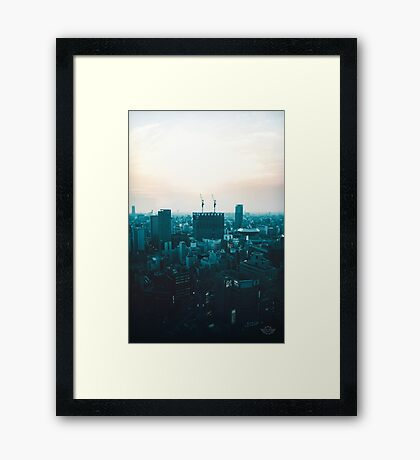 Osaka morning Framed Print
