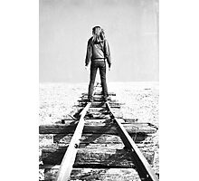 Cold Horizon Photographic Print