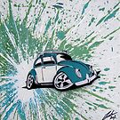 Dub Splat 06 Painting by Richard Yeomans