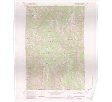 USGS Topo Map Washington Godman Spring 241338 1967 24000 Poster