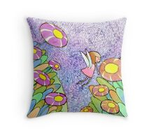The little angle Throw Pillow