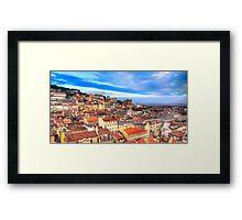 Lisbon... Framed Print
