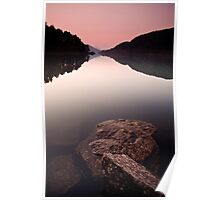 Thirlmere Dusk Poster