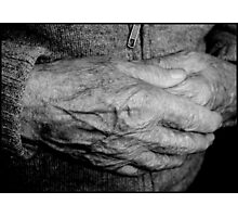 Hands # 2 Photographic Print