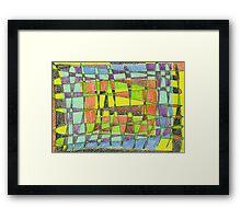 blocks-2012-02 Framed Print