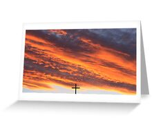 Just because it's Easter_Sunset @ Hill End Greeting Card
