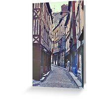 Riquewihr III Greeting Card