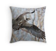 Nesting Materials Throw Pillow