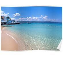 Dr.s Caves Beach, Jamaica Poster
