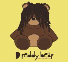 Dreddy bear - he's so rasta One Piece - Short Sleeve