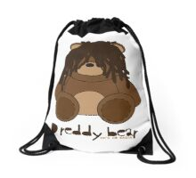 Dreddy bear - he's so rasta Drawstring Bag