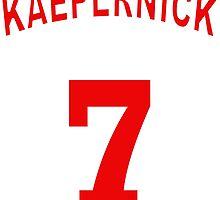 Colin Kaepernick 7 by JUSTiceTEA